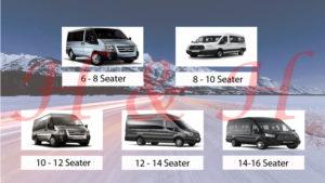 8 - 16 seater minibus Huddersfield